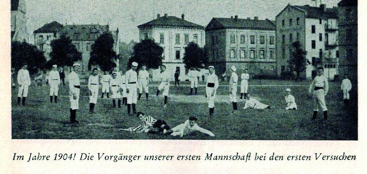 1 Mannschaft von 1904